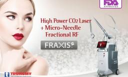 Máy Laser trị sẹo CO2 giúp nâng cao chất lượng chăm sóc da