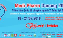 Thư mời triển lãm Quốc tế chuyên ngành Y dược tại Đà Nẵng - MEDI-PHARM DANANG 2018