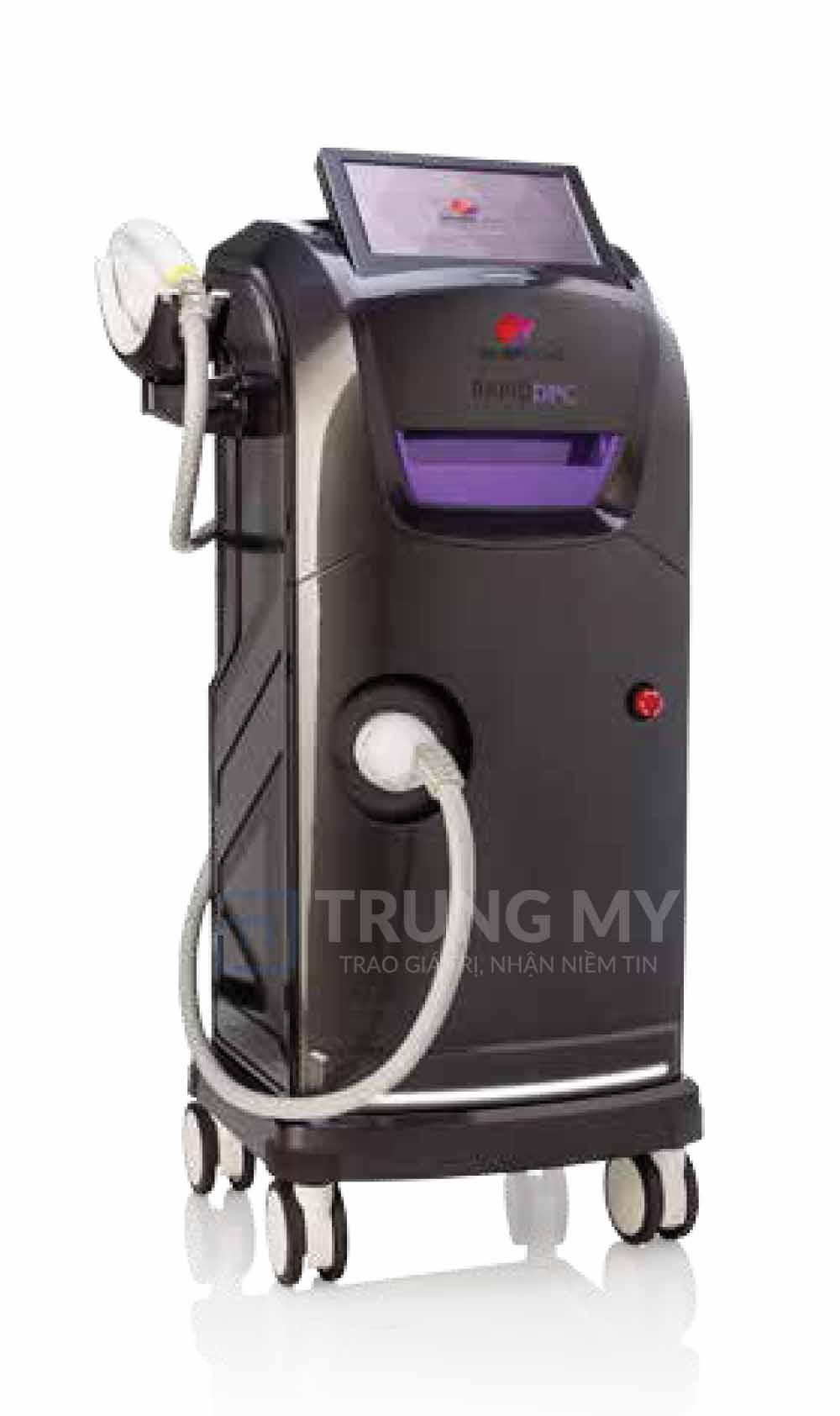 Hình ảnh máy triệt lông Rapid DPC. Triệt lông bằng công nghệ IPL là gì?