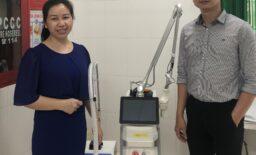 Công nghệ Laser Fractional CO2 chuyển giao tới BV Đa Khoa Minh Đức