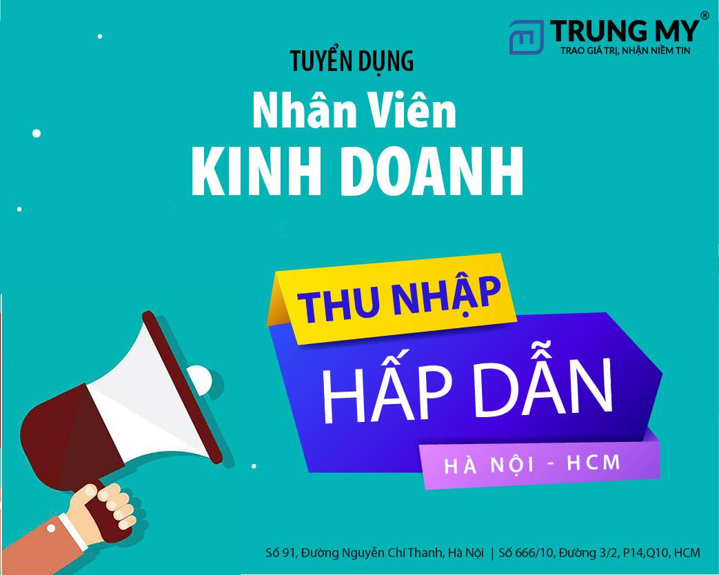 Tuyển dụng nhân sự Hà Nội - TP Hồ Chí Minh